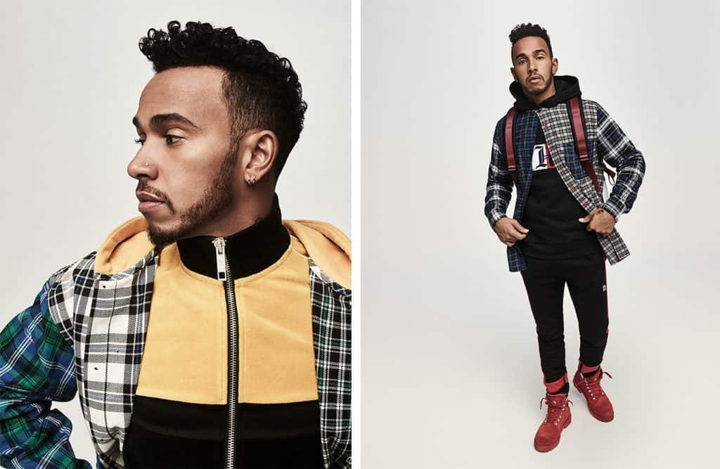 d2a0c03588baf1 TOMMY HILFIGER PREVIEWS FALL COLLECTION WITH LEWIS HAMILTON