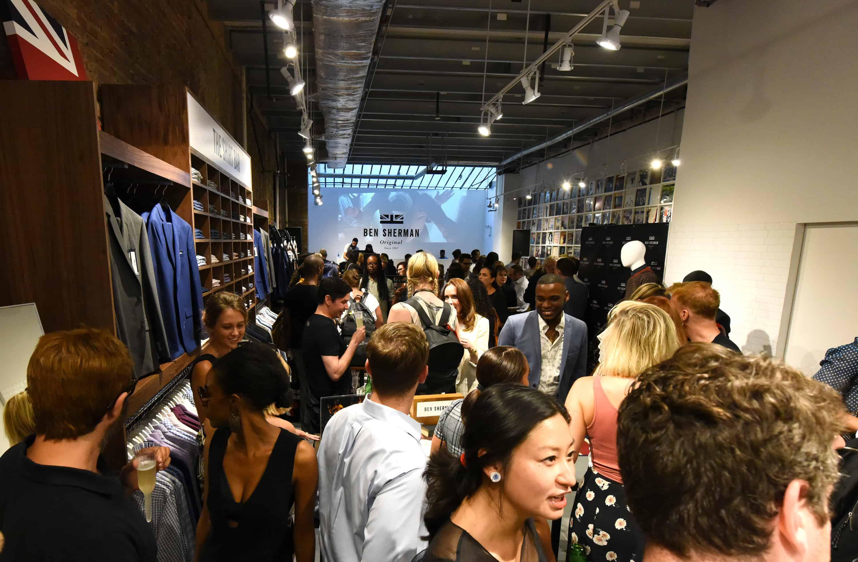 Ben Sherman SoHo NY Concept Store Launch Event