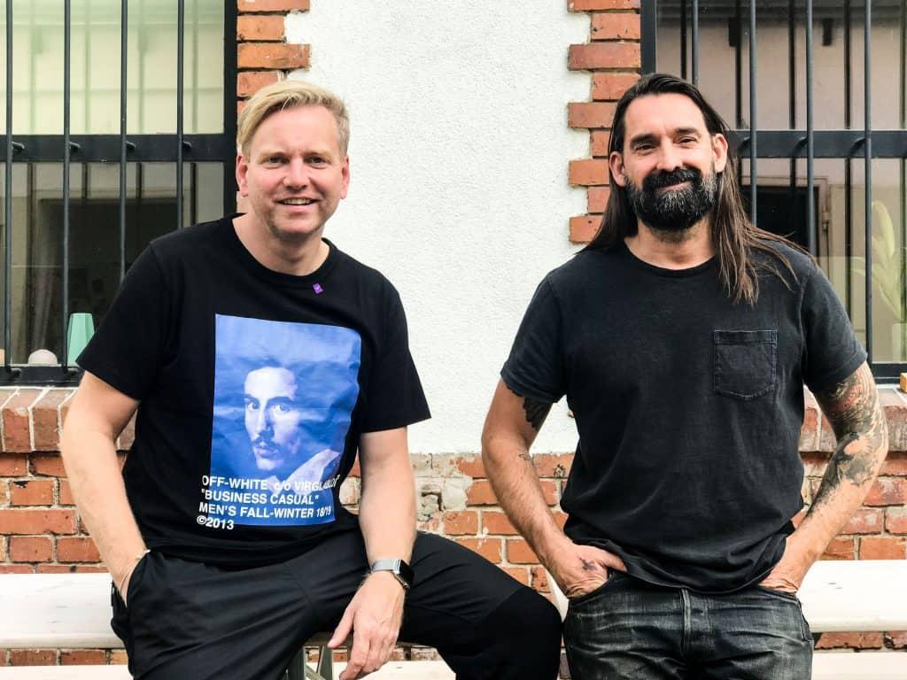 Jörg Wichmann and Shane Brandenburg