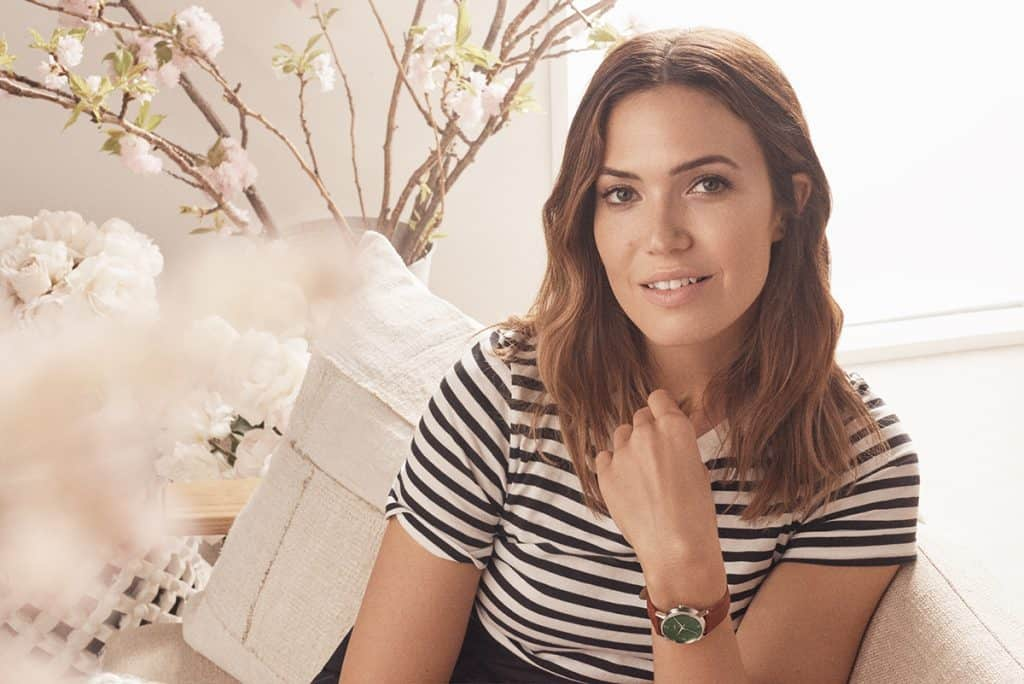 Mandy Moore timex