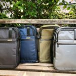 ROFFÉ ACCESSORIES DEBUTS EXPANDABLE TRAVEL BACKPACK SUITCASE FOR DUCHAMP LONDON
