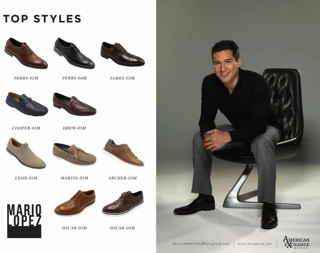 Mario Lopez Footwear Collection Launch