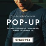 MENSWEAR BRAND SHARPLY TO POP-UP AT THE REFINERY HOTEL IN NYC