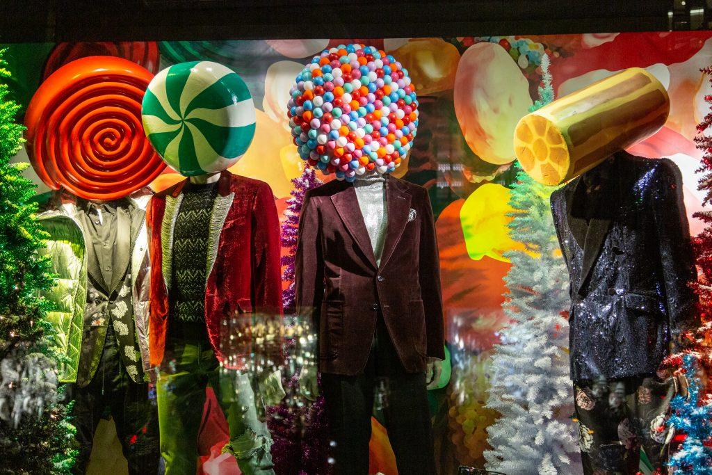 Bergdorf Goodman Holiday Windows 2018