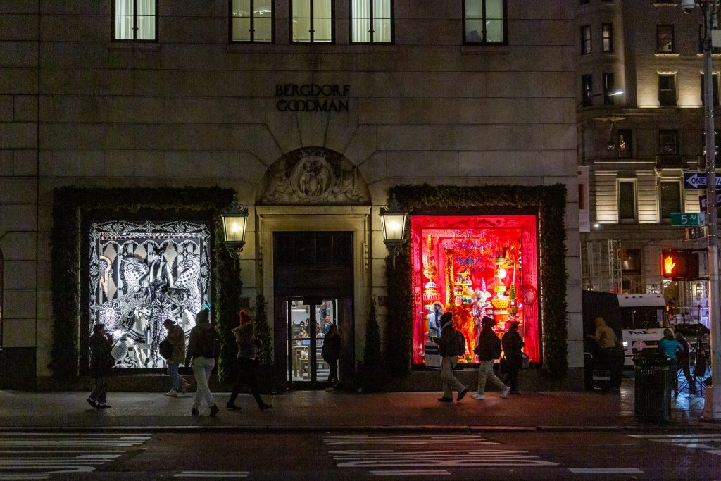 Image result for Bergdorf Goodies  2018 Holiday Windows