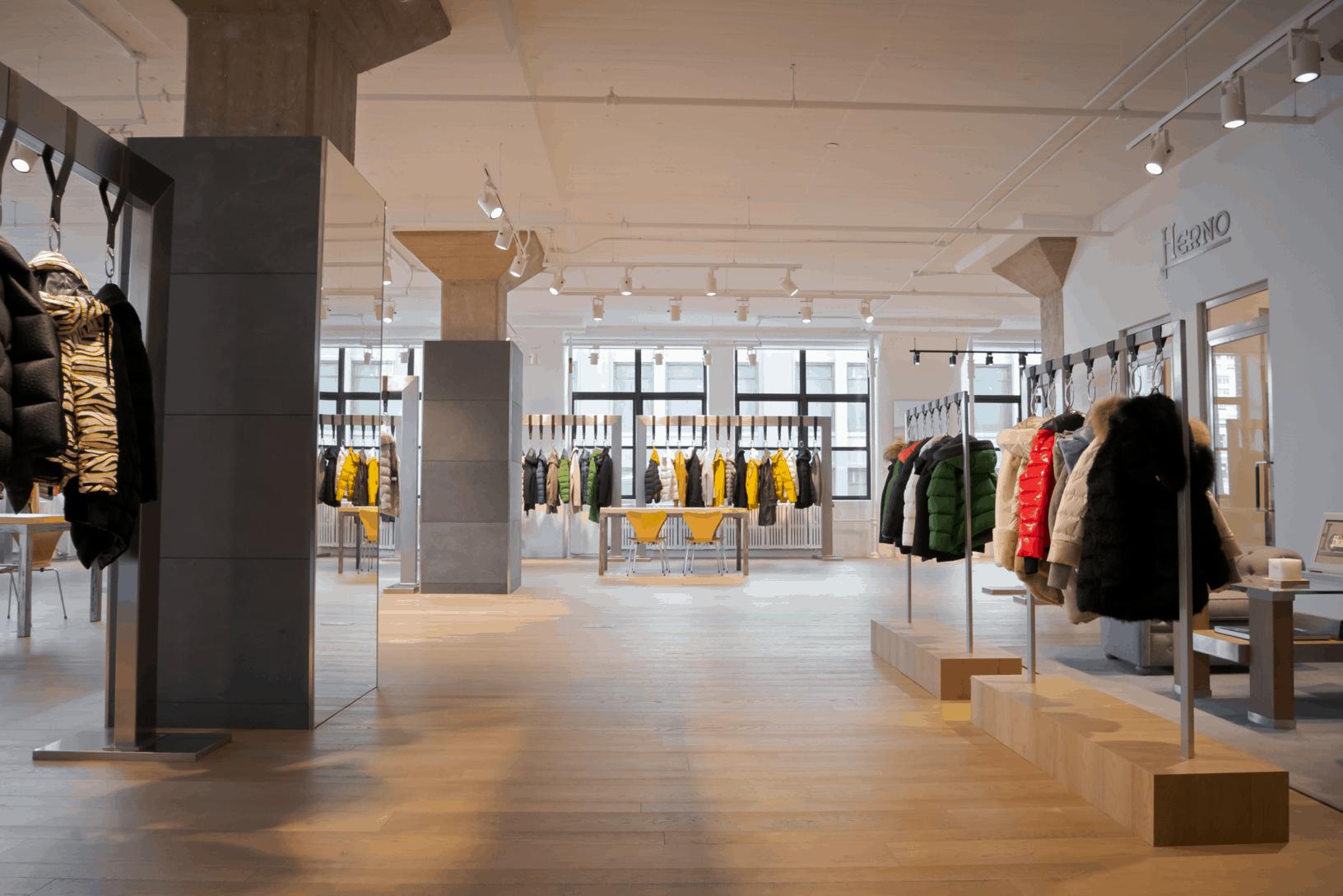 Herno NYC Showroom