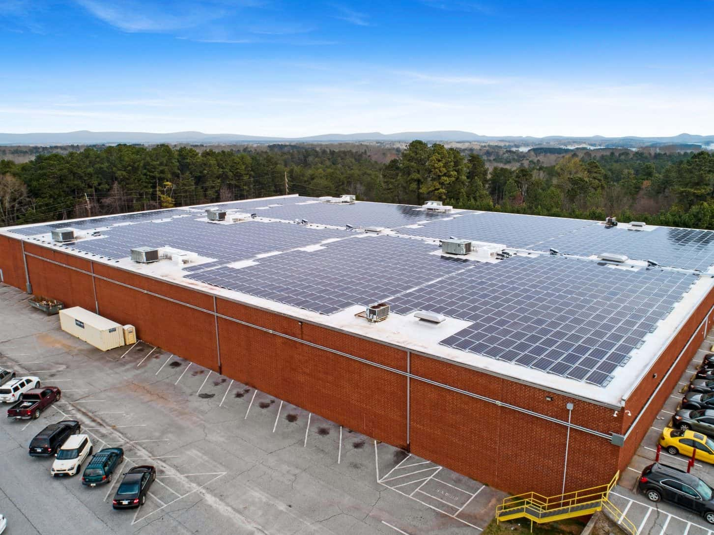 Perry Ellis International Solar Panel Install
