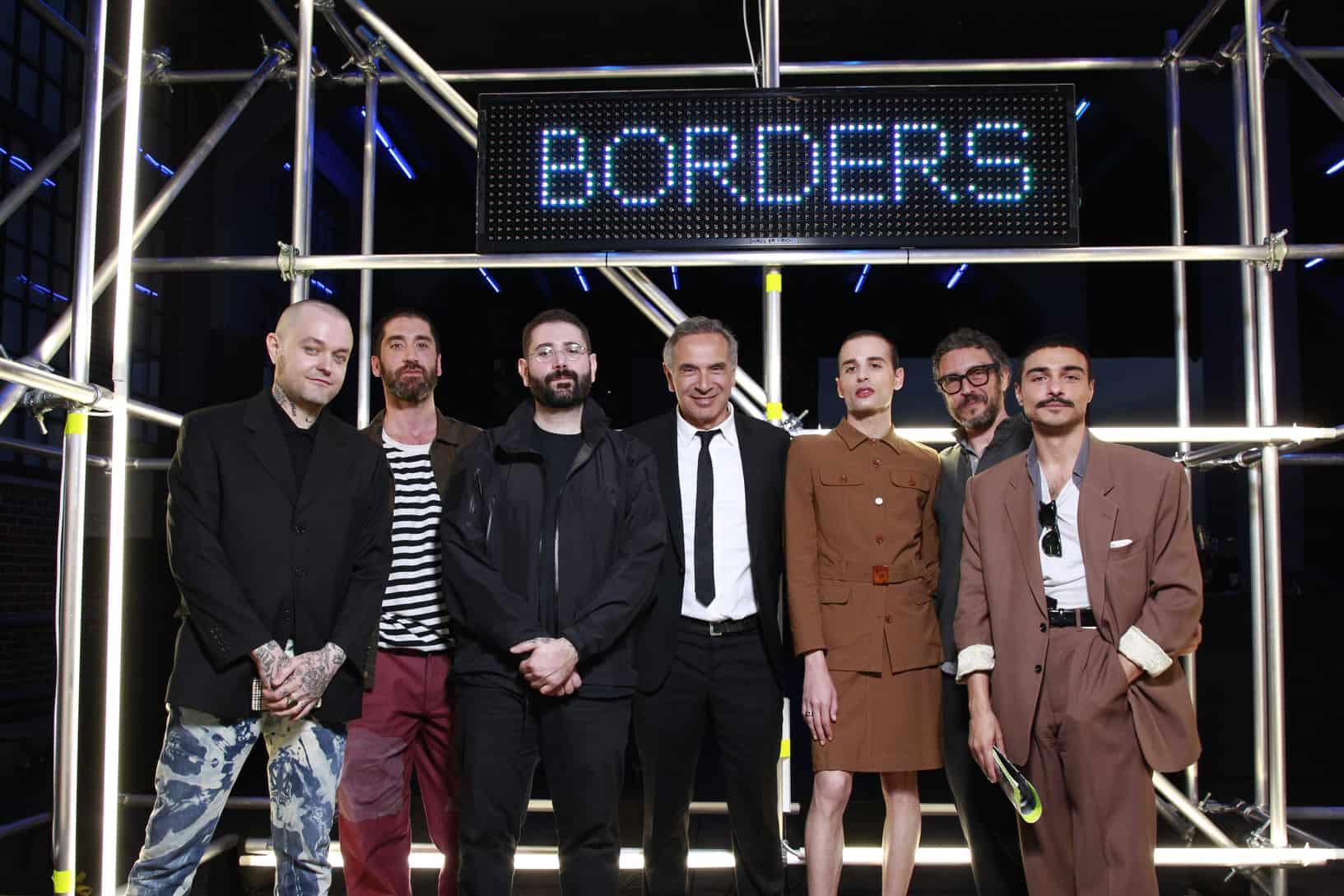 Borders Italian Fashion High Line NYC