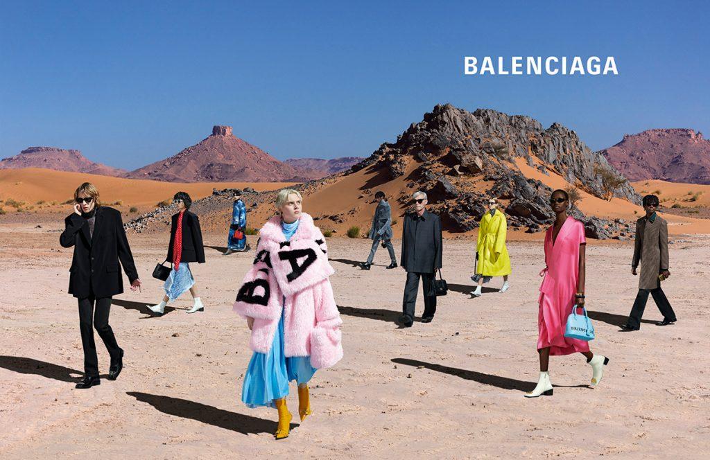 Balenciaga Fall 19 Campaign