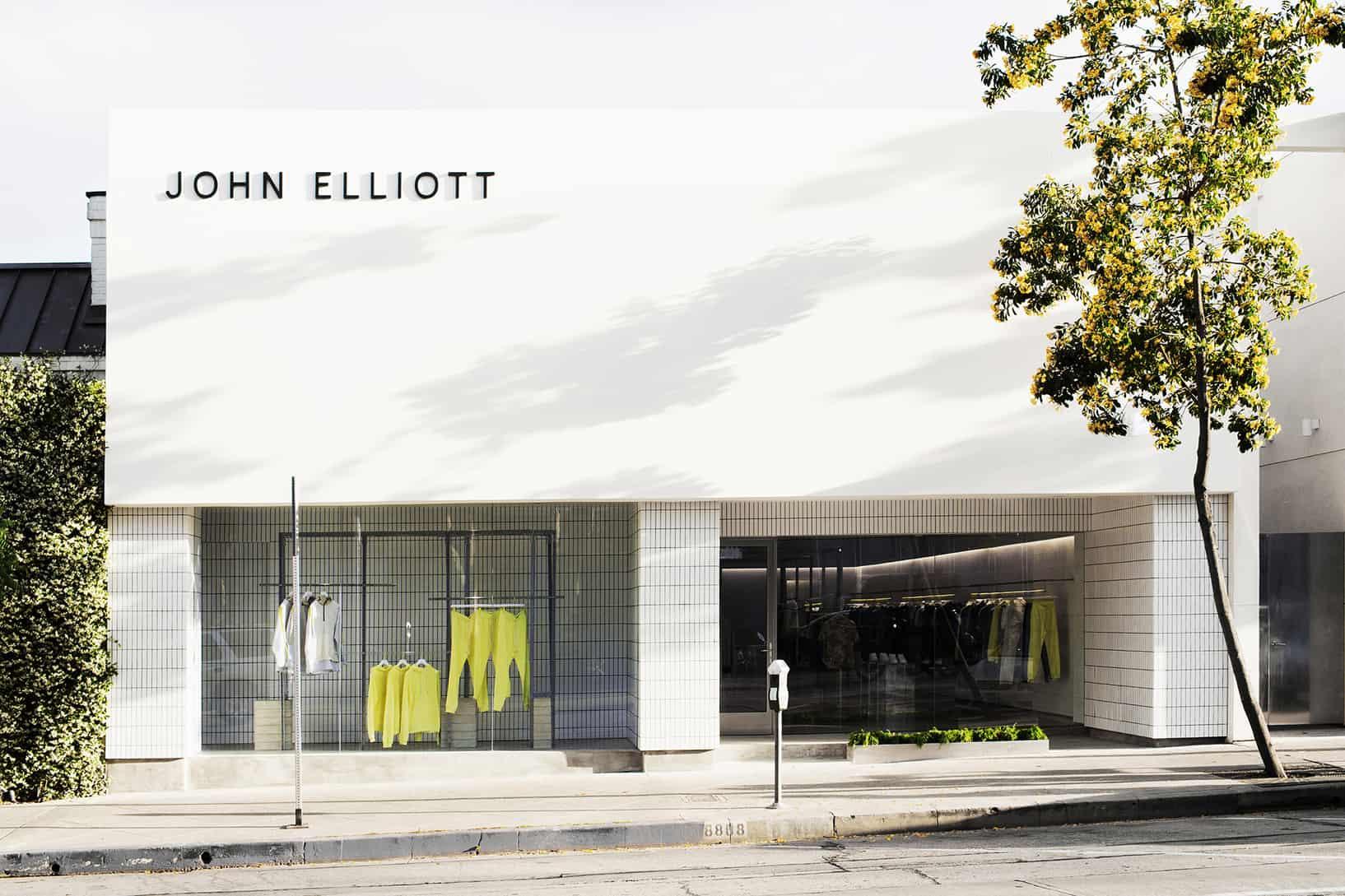 John Elliott store front
