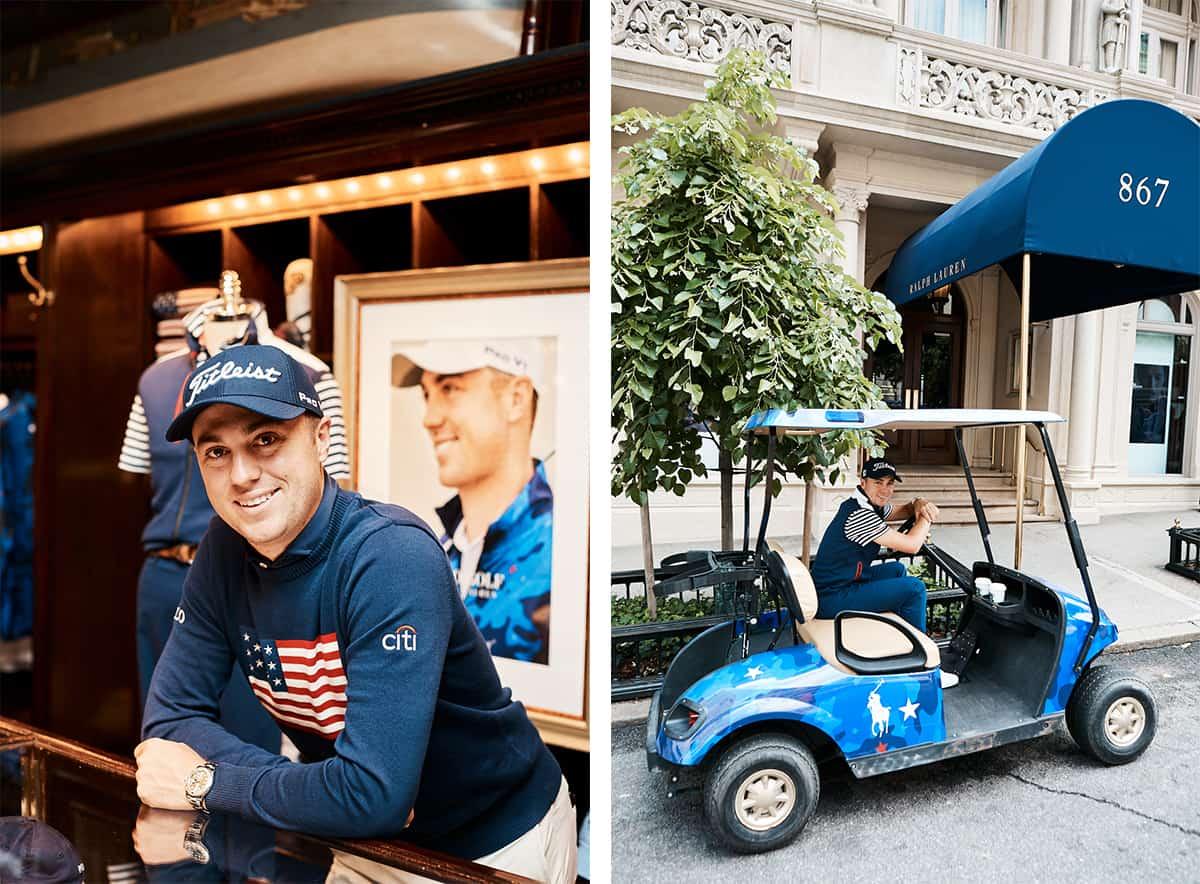 Polo Ralph Lauren Launches Justin Thomas Golf Collaboration Mr Magazine