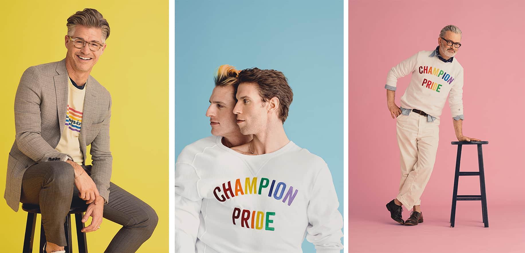 Todd Snyder x Champion Pride