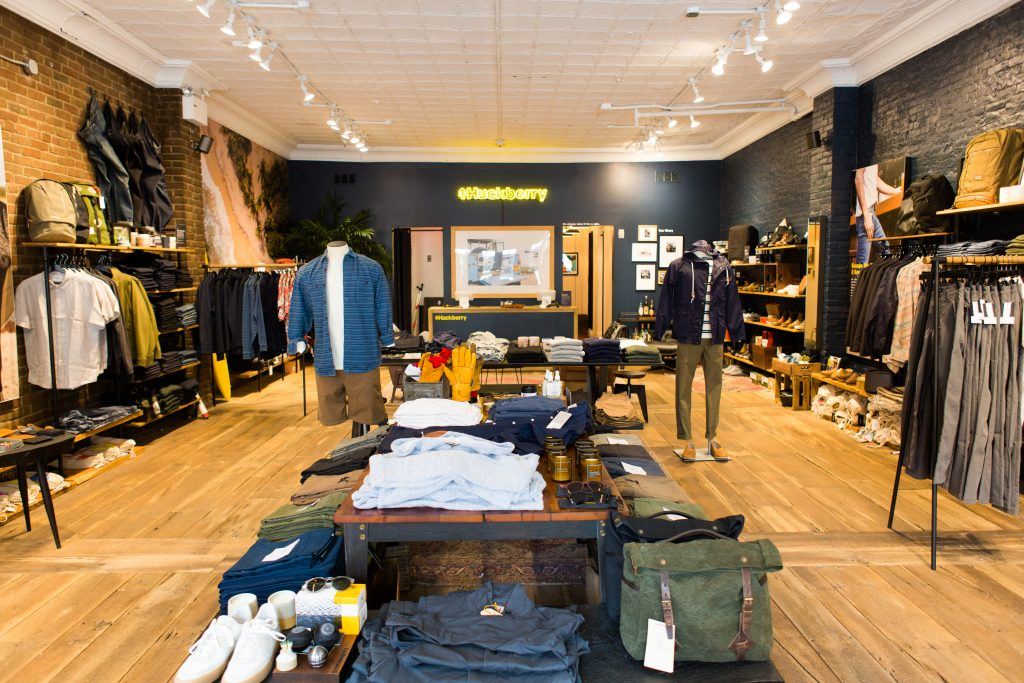 Huckberry NYC Store