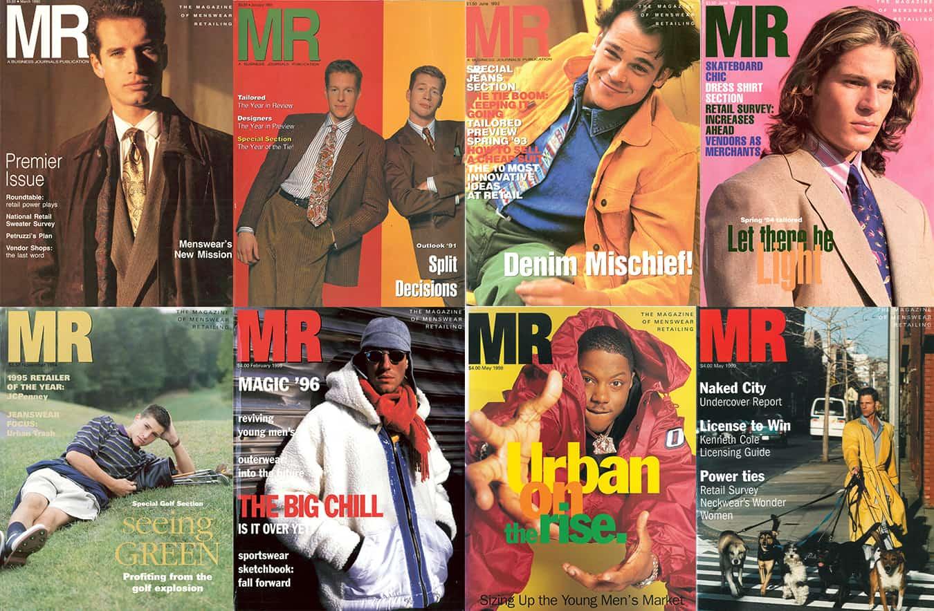MR Magazine 90s covers