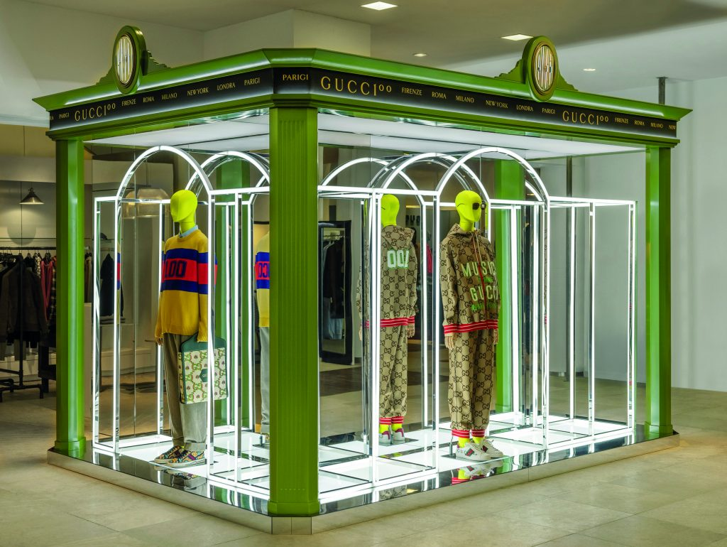 Gucci 100 at Saks Fifth Avenue