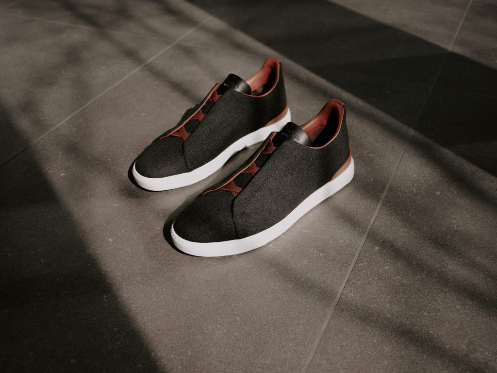 Zegna Triple Stitch Sneaker